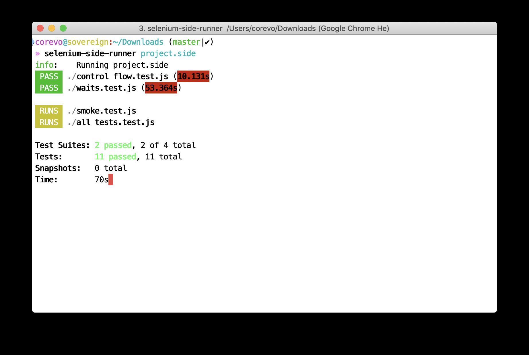 命令行运行器样本