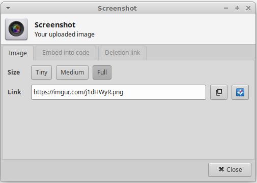 xfce4-screenshooter-imgur-link-dialog